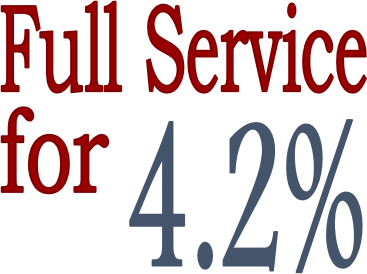 Full Service real estate for 3.9%